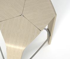 'Hoc' stool by Jehs + Laub for Brunner (DE)