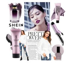 beauty routine by varrica on Polyvore featuring polyvore beauty Bobbi Brown Cosmetics STELLA McCARTNEY Yves Saint Laurent BaByliss Avon Oribe
