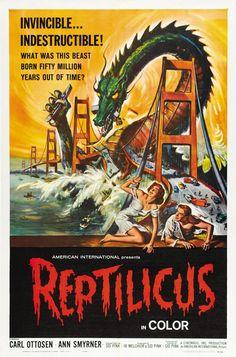 Reptilicus!      Tonight's Movie MeltdownThe Danish-American Giant Monster Movie Classic Reptilicus (1961)      (Full Movie)