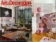 maillo - parution press - Arts&décoration