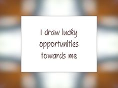 Daily Affirmation for December 10, 2013