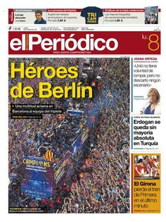 Edición del Lunes 8 junio de 2015 - Edición Digital - El Periódico de Catalunya