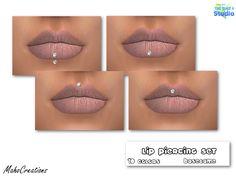 MahoCreations' Lip Piercing Set