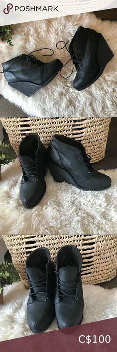 I just added this listing on Poshmark: Rag & bone odval desert black wedge booties. #shopmycloset #poshmark #fashion #shopping #style #forsale #rag & bone #Shoes