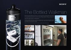 Sony: The bottled walkman | Ads of the World™