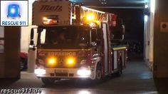 Madrid fire department // Escala ET-21 Bomberos Madrid Parque 2