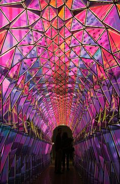 One-Way Colour Tunnel by Olafur Eliasson | smARTists | Art ... Olafur Eliasson One Way Colour Tunnel