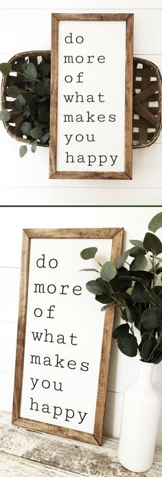 Beautiful farmhouse signs {{CharlieandPineSigns} on Etsy! This one's my favorite :) good reminder to choose happy every single day! Paint Colors For Living Room, Living Room Sets, Rugs In Living Room, Farmhouse Signs, Farmhouse Decor, Modern Farmhouse, Diy Signs, Wood Signs, Rustic Wood Decor