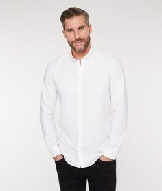 Stain and odour repellent, easy care Oxford shirt with a button down collar. Designed and made in Europe using 100% premium Oxford cotton. Eco-certified.