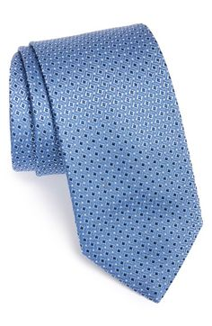 Brioni Grid Woven Silk Tie available at #Nordstrom
