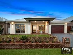 home design by Richard Barratt Dream House Exterior, Exterior House Colors, Exterior Design, Bungalow House Design, House Front Design, My House Plans, Modern House Plans, Home Building Design, Building A House