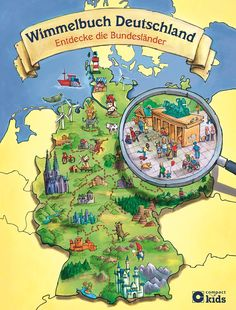 Wimmelbuch Deutschland - Entdecke die Bundesländer: Deutschland in Wimmelbildern für Kinder ab 5 Jahren: Amazon.de: Astrid Kaufmann: Bücher