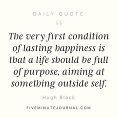 A #chroniclife doesn't have to mean a life without #purpose