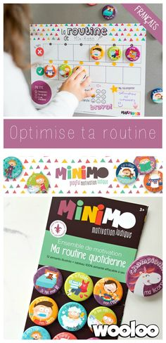 Optimisez votre routine familiale avec Minimo motivation Ludique