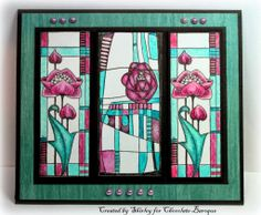 Mackintosh Windows (by Shirley)
