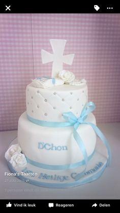 Doop taart Heilige communie taart