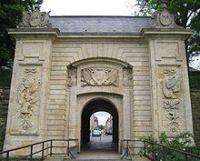 Longwy, la Porte de France au sud de Longwy, témoin des fortifications de Vauban
