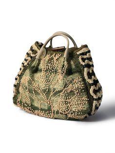 Jamin Puech crochet bag.