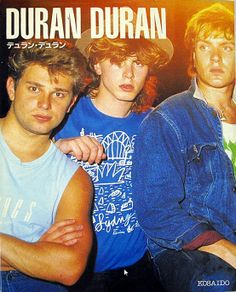 #duranduran #simonlebon #johntaylor #andytaylor #rogertaylor #nickrhodes #Duranie #eighties #eightiesbands #UKbands #DD