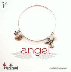 Angel Expandable Bangle Charm Bracelet - Wedding nacklaces (*Amazon Partner-Link)