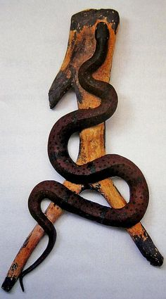 Snake Carving 1975