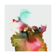 Watercolor Art Abstract :: Organism No4 Limited Edition Art Print by V E R Y M A R T A | Minted