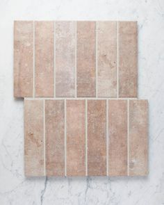 """TileCloud on Instagram: """"Thirroul in terracotta or Thirroul in bone? Which one would you pick? Both with 3mm grout joints and contrasting grout. They can be used…"""""""