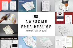 Leaf Shaped Business Card Template New 98 Awesome Free Resume Templates for 2019 Creativetacos Infographic Resume Template, Best Resume Template, Infographics, Free Printable Resume Templates, Templates Free, Free Professional Resume Template, Project Manager Resume, Job Resume, Cv Examples