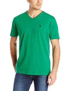 U.S. Polo Assn. Men's V-Neck T-Shirt  http://www.yearofstyle.com/u-s-polo-assn-mens-v-neck-t-shirt-3/