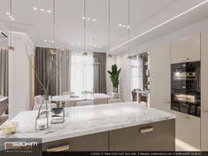 Sơn tường màu trắng bố trí thêm hệ thống đèn sang trọng, đầy ấn tượng, đảm bảo thu hút bất cứ ai khi bước vào. #saokimdecor#kitchen#kitchens#diningroom#diningrooms#phòngbếp #キッチン#Cozinha #cocina #Küche #cuisine#interior #interiordesign #interiors #apartment #apartments #chungcư #インテリア#interieur #innenraum