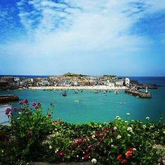 "Breanna Drennan (@badrennan) on Instagram: ""Porthminster Beach, St Ives, Cornwall, England, UK, 2015 #traveltuesday"""