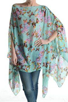 Womens Juniors Fashion Butterfly Poncho Tunic Caftan Cover up One Size Scarf Top Love My Seamless http://www.amazon.com/dp/B00JMNYJTE/ref=cm_sw_r_pi_dp_K1ARvb1ER2EYH