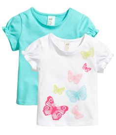Turquoise and White Butterfly Shirt Product Detail Cool Kids Clothes, Cute Outfits For Kids, Cool Outfits, Kids Clothing, Baby Girl Tops, My Baby Girl, Girls Jeans, Shirts For Girls, Toddler Fashion