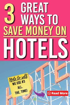 Looking for some ways to save on hotels next time you travel? Here are 3 places we use to book and 3 bonus tips for you to get the most savings out of your next trip. Disney On A Budget, Disney Vacation Planning, Disney World Planning, Vacation Ideas, Disney Vacations, Ways To Save Money, Money Saving Tips, How To Make Money, Money Tips