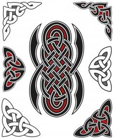 set-of-celtic-design-elements