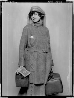 1919 traveling lady?