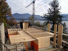 Cantiere NUR-HOLZ - Belgirate (VB) - Lavori di nuova costruzione