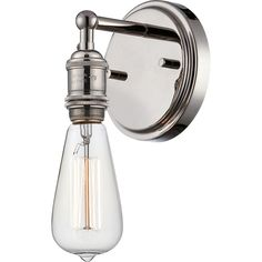 Nuvo Vintage 1-Light Wall Sconce