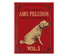 Placa Decorativa Amo Peludos Volume I - 20x30cm