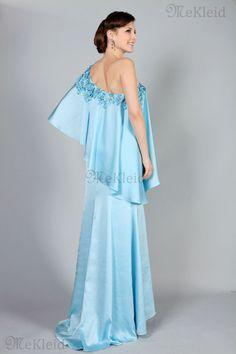 Volle Länge Herz-Ausschnitt Bustier Merkwürdig Gesammelte Perlen Abendkleid