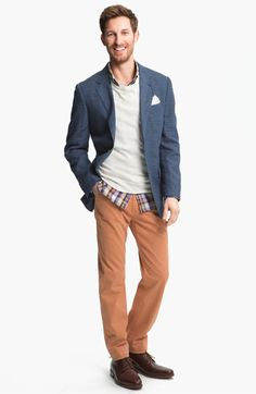84c06c670f1 Corderoy pant combo. switch the pants to coral and the blazer to light gray  and