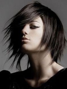 medium hairstyle, I really like this!!!