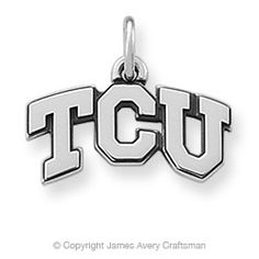 James Avery TCU charm - which I now have!