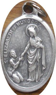Saint+St.+Elizabeth+of+Hungary+Medal+++Charity+Homeless+Hospitals+Widows