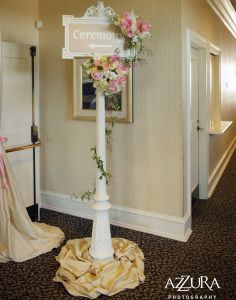 would be very cute on the way to consulting room or in front...........Wedding Ceremony D�cor Corporate Events Floral Wedding D�cor Floral Decor Wedding Reception Social Events D�cor Wedding