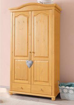 Epic Steens Kleiderschrank Monaco Kiefer massiv wei kolonial trg cmxcmxcm bxhxt Schlafzimmer Pinterest Monaco