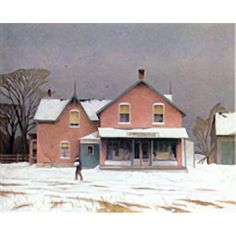 A. J. Casson Grey Day March