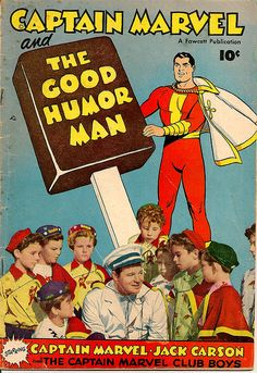 Captain Marvel and the Good Humor Man by bbmason1981 on Flickr.