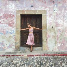 The loveliest @alana_greszata exploring Antigua in the Bandit Queen 2-Piece Set  #jenspiratebooty