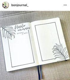 Way to track your memories in bullet journal